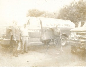 vintage photo of G.A. Bove Fuels 1973 Chevy oil truck