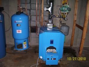 Buderus Installation -Mechanicville, NY - October 27, 2010