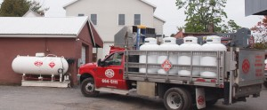 G.A. Bove Fuels - truck with fuel tanks
