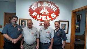 G.A. Bove Fuels staff